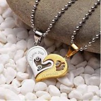 The Heart Necklace for Couples