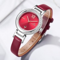 NAVIFORCE NF5007 Women Casual Leather Watch With Calendar 3254