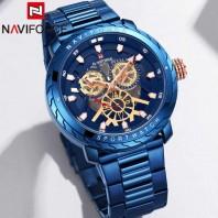 Naviforce Xiang 9158 Men Sports Watch Casual Men Multi-functional Waterproof 3270