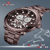 NAVIFORCE Mens Watches Luxury Brand Fashion Casual Quartz Wrist Watch Men 3284