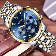 Stainless Steel Chronograph Waterproof watch