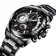 AllBlack Multifunctional Watch