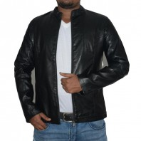 Artificial Leather Jacket-3552
