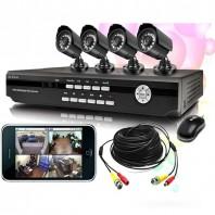 CCTV 4 camera fully setup -2079