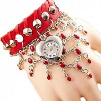 Valentine Red Watch Code Jhuri watch - 3075