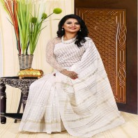 Tangail Reyon Silk Saree